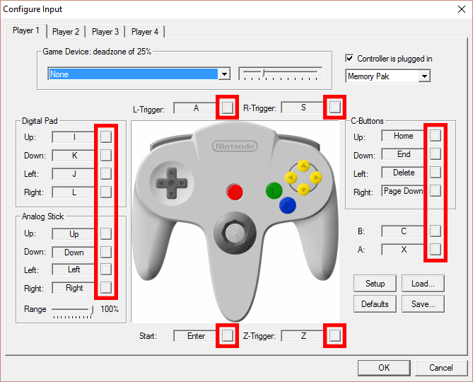 project 64 controller Using project 64 emulator, anybody got a controller file please im using xbox 1  controller for windows (wired, third party) if that helps) :).