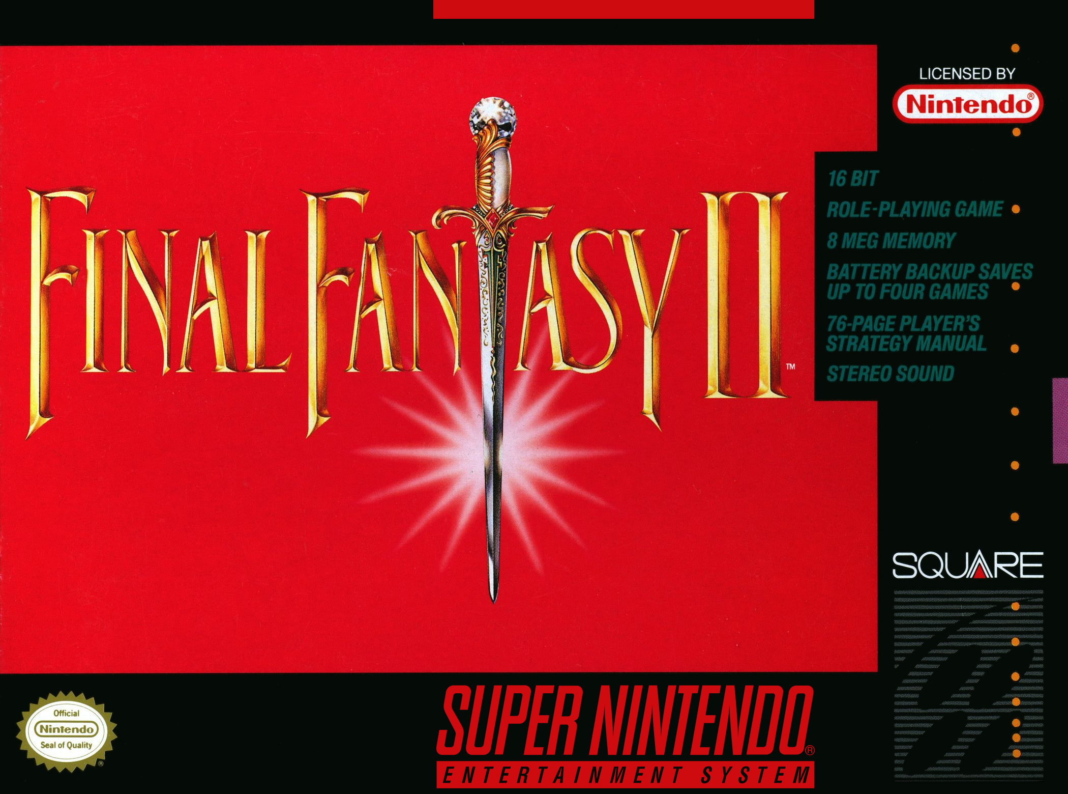 Final Fantasy 4 About The Game