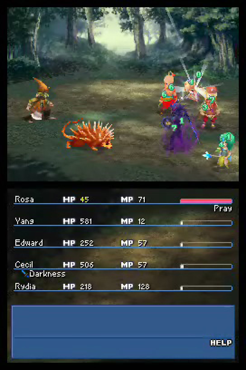final fantasy iv nintendo ds screen shots album of