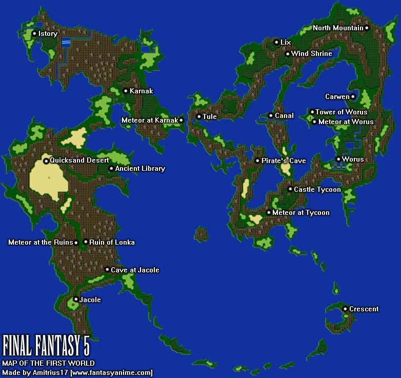 Final Fantasy World Map OnlineShoesNike