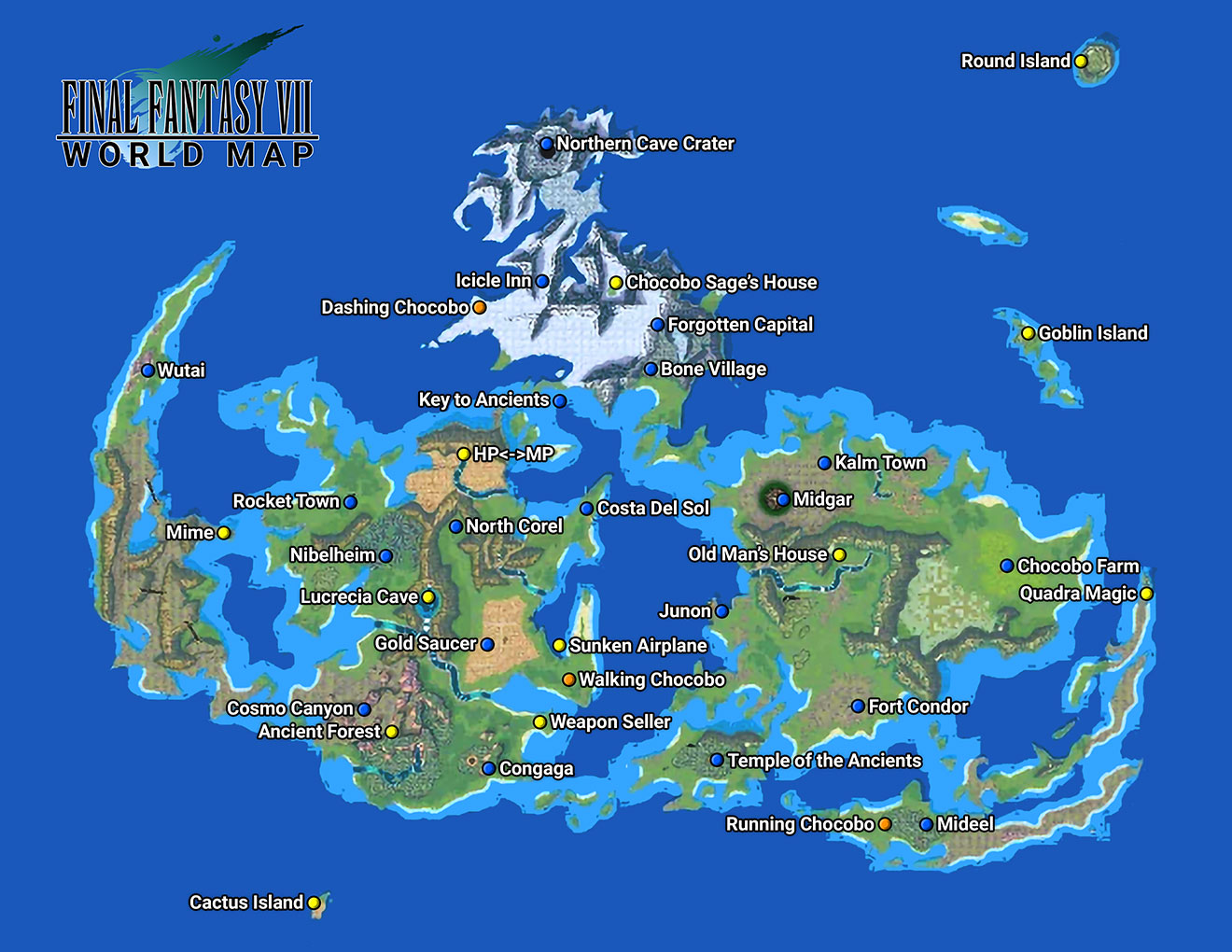"Revolution ~ A ""Fantastic"" story (Open, not started) Ff7map"