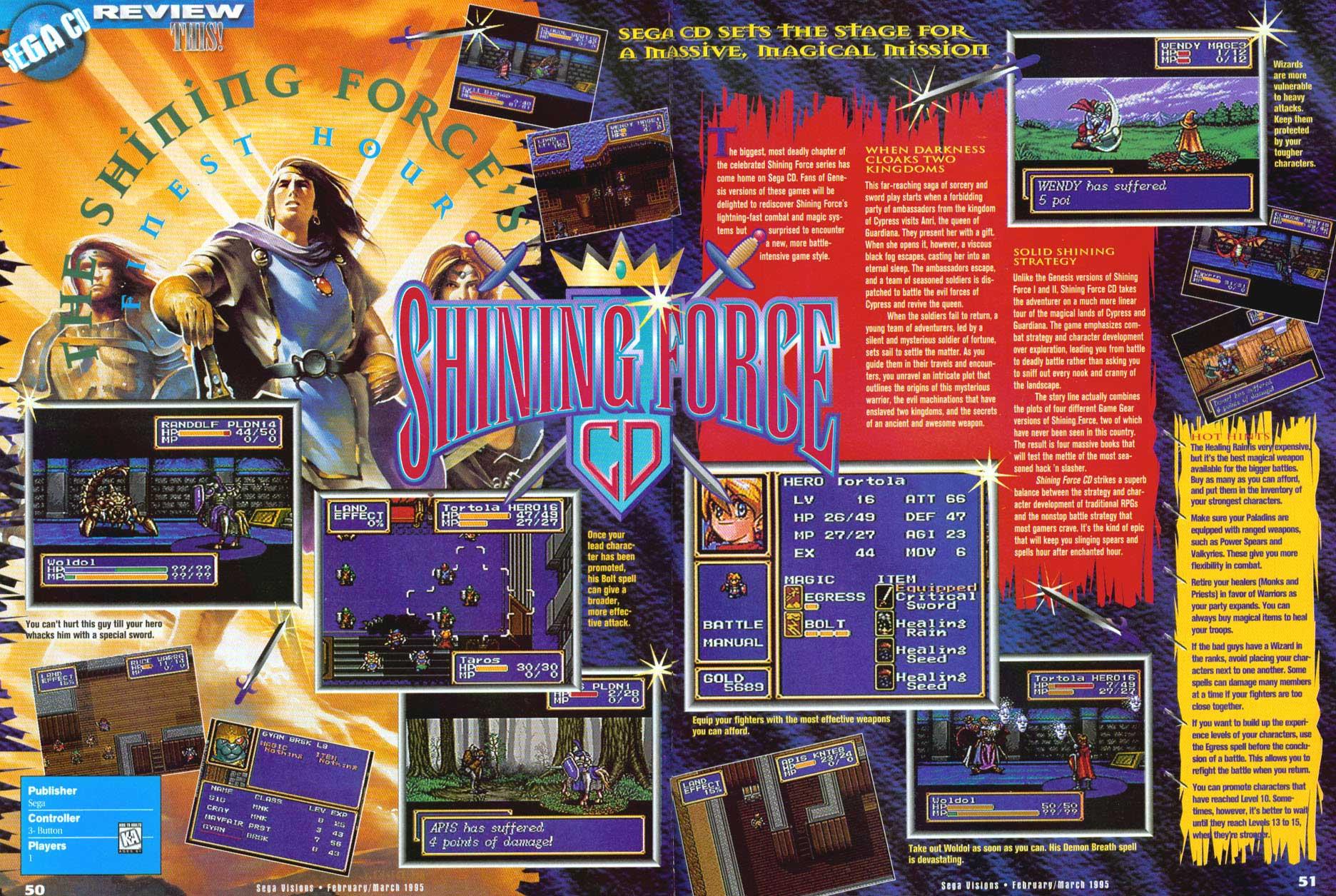 Classic CD RPGs - Scans - Sega CD