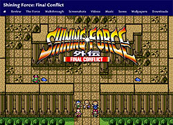 New Shining Force Final Conflict shrine