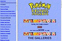 Pokemon Picture Archive screen shot