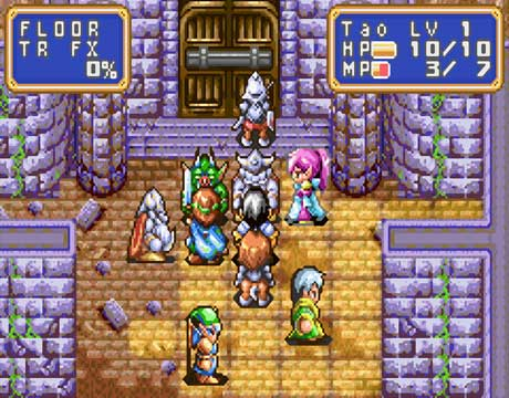 Shining Force on GBA