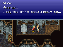 Screen shot from Final Fantasy 6 Stand Guard hack