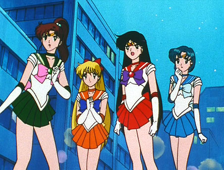 Sailor Moon Groupies Sailor Scout Action Gallery