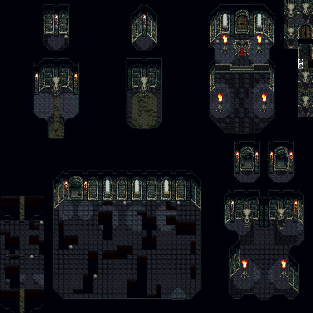 Chrono Trigger - Maps - Dungeon Maps, page 2 of 2