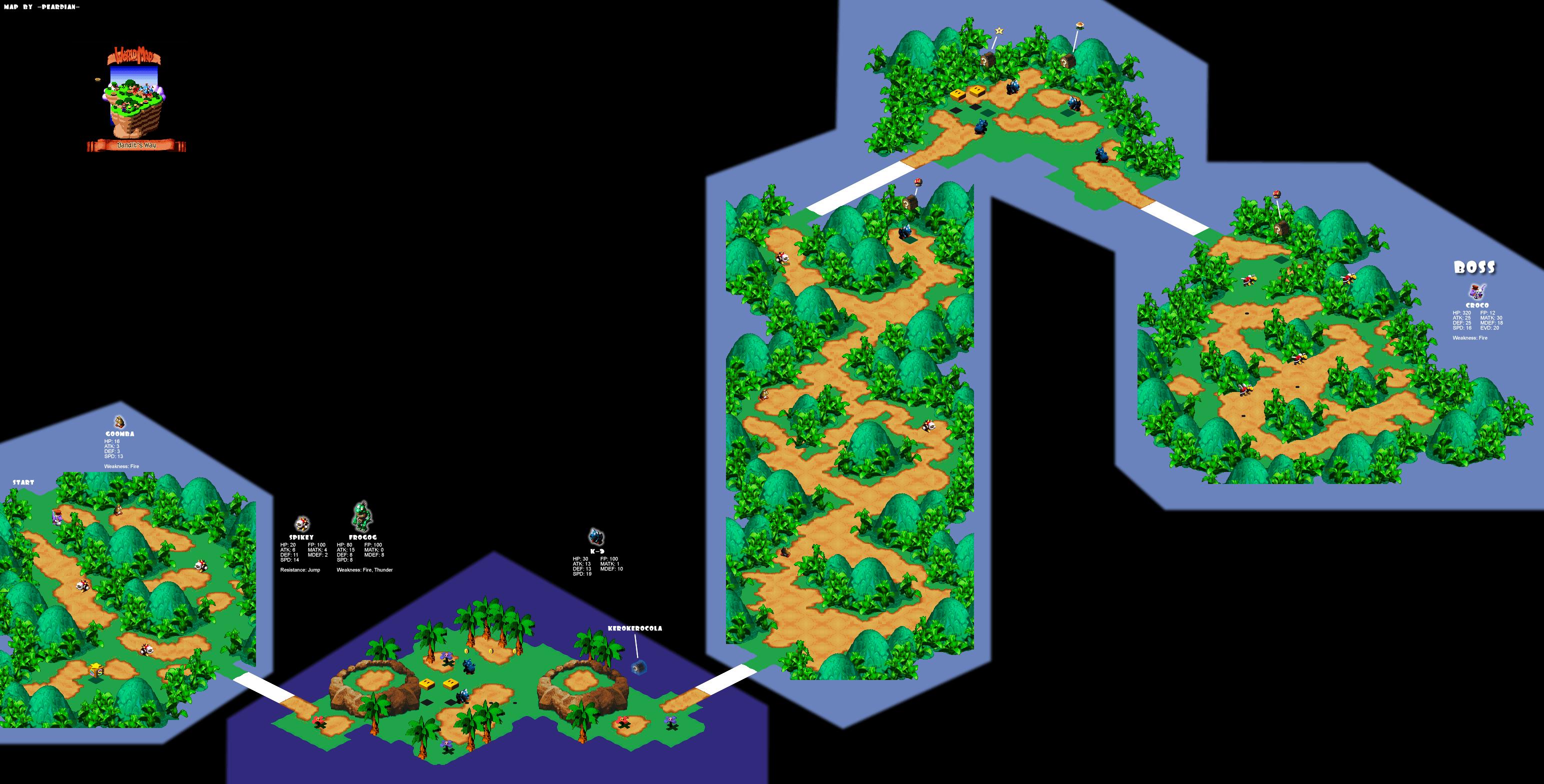 Super Mario Rpg Maps