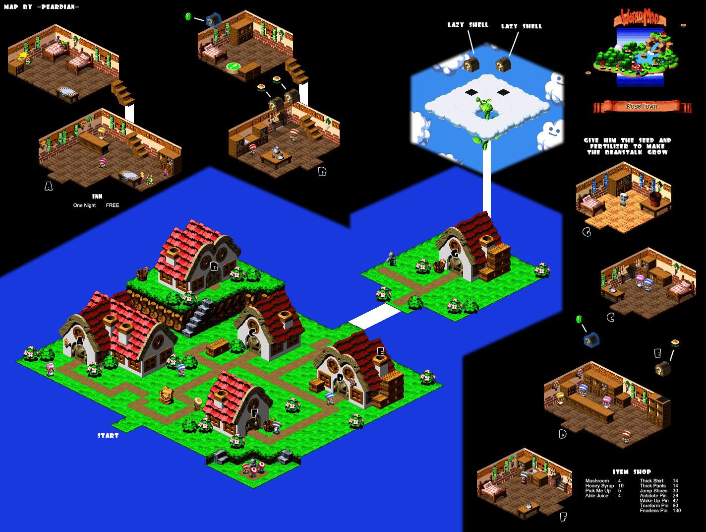 Super Mario RPG Open World Randomizer