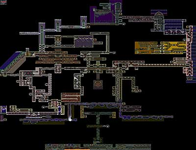 Symphony Of The Night Map Castlevania: Symphony of the Night (PSX)   Maps