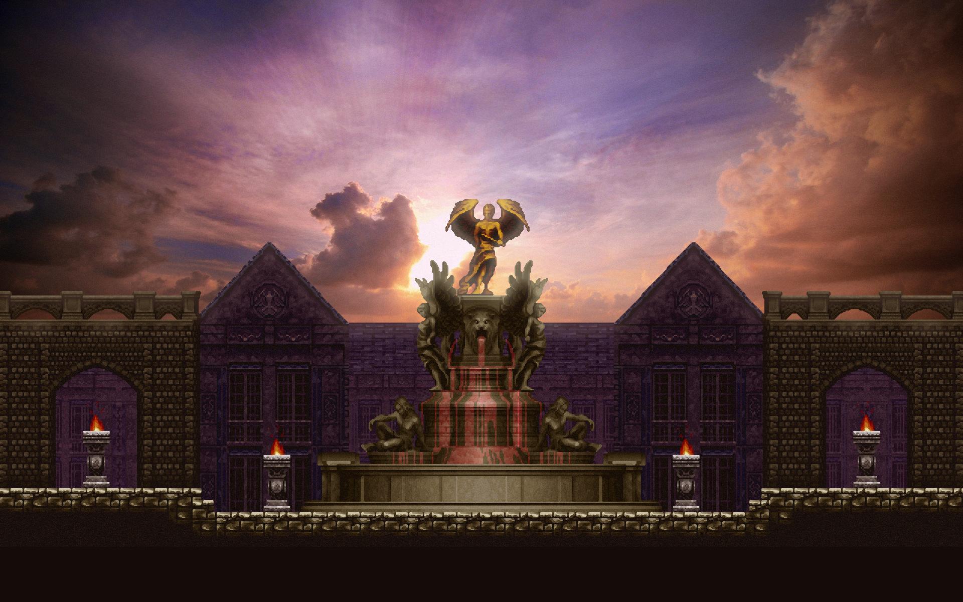 Castlevania Symphony Of The Night PSX  Desktop Wallpapers