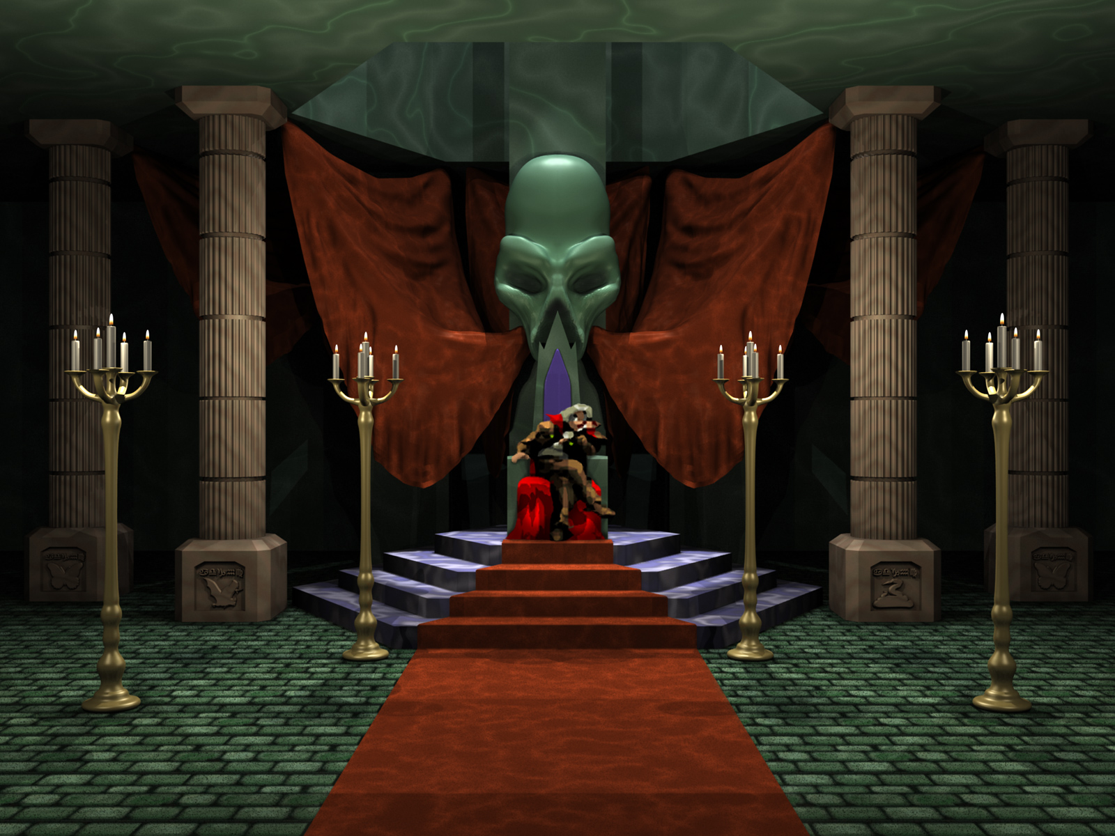 Picture Of Room Castlevania Symphony Of The Night Psx Desktop Wallpapers